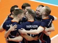 Volleyballers ondanks ruime zege op Finland dicht bij uitschakeling