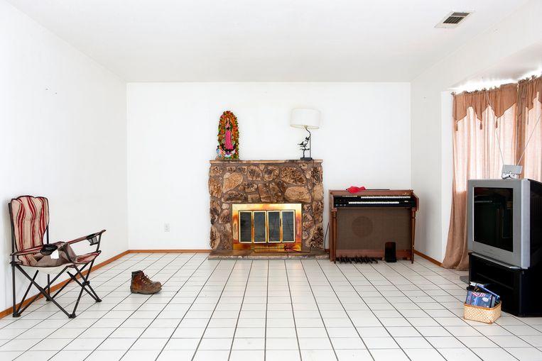 Een verlaten huis in 2009; mensen verlieten Stockton toen ze hun hypotheek niet meer konden betalen. Beeld Kirk Crippens