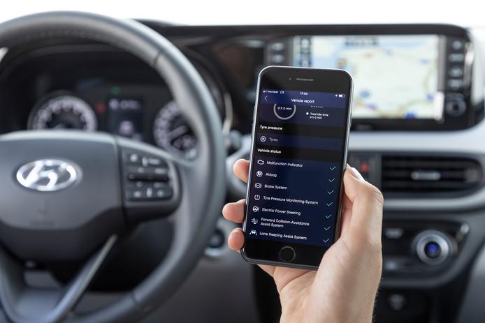 Bluelink: diverse functies bedien je met je smartphone