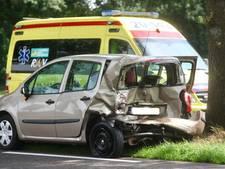 Automobilist en kind gewond bij kop-staartbotsing in Alphen