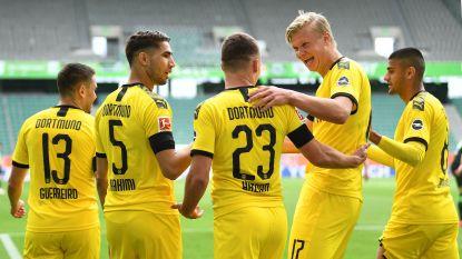 Verdedigers maken de doelpunten voor Dortmund, Hazard pikt opnieuw assist mee en zit al aan twaalf stuks