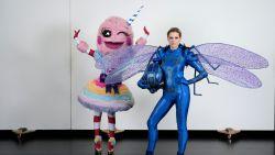Alweer nieuw personage in 'The Masked Singer': Suikerspin neemt plaats in van Libelle
