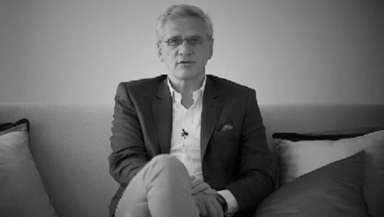 Vlaams minister-president Kris Peeters (CD&V) in de videoboodschap.