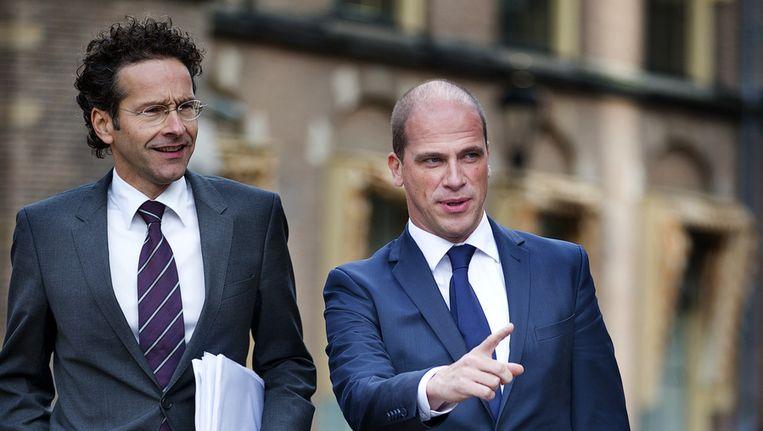 Grote kans dat Jeroen Dijsselbloem (links) de vicepremier wordt Beeld ANP