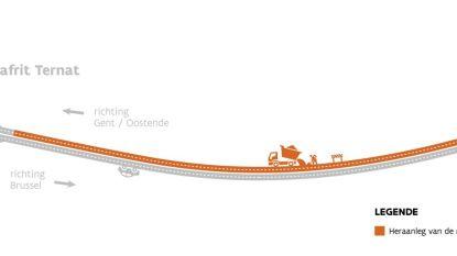 Werken op E40 Groot-Bijgaarden zorgen vanaf 4 juni voor verkeershinder