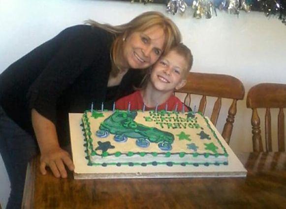 Dawna en haar zoon Trevor kwamen om tijdens het bloedbad.