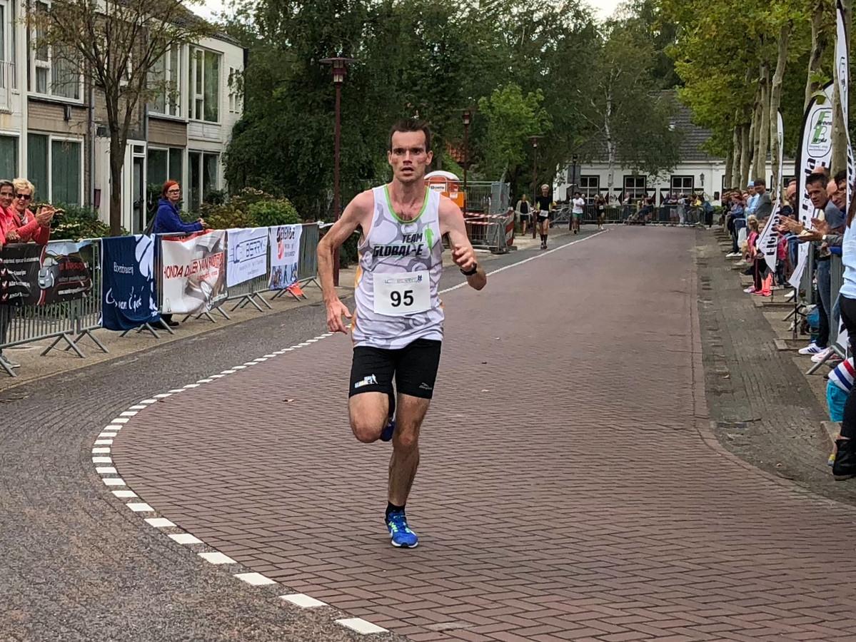 Winnaar Jeroen Maas.