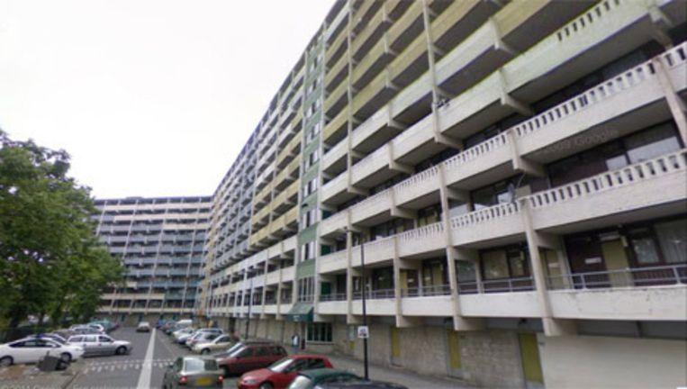De flat Geldershoofd in Amsterdam-Zuidoost. Beeld