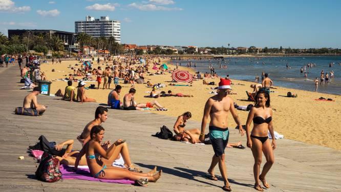 Recordtemperaturen voor Australiërs rond Kerstmis: verhoogde waakzaamheid voor bosbranden