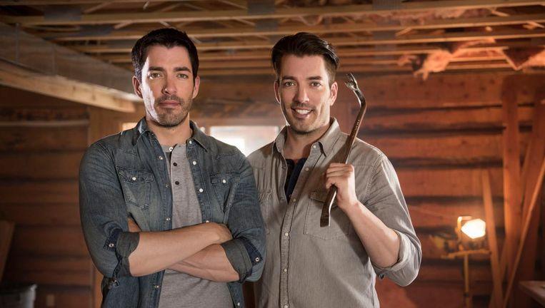De bouwbroers, Jonathan en Drew Scott Beeld