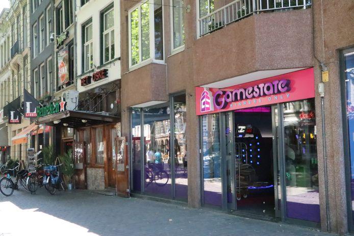 De nieuwe vestiging van Gamestate op de Grote Markt van Breda. Eerder zat hier de winkel van Intertoys.