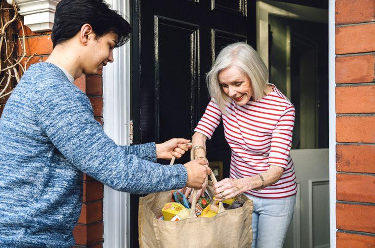 Illustratiefoto: Met het nieuwe systeem 'Collect&Go Connect' kunnen klanten boodschappen voor elkaar doen in vier Gentse OKay-winkels.