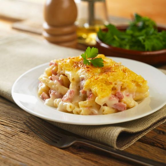 Macaroni met kaas, een klassieker, maar ook een caloriebom.