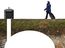 Pilot met ondergronds restafval in Woensdrecht loopt nog geen storm
