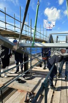 Hoogste punt bij nieuwbouw in centrum Rucphen bereikt