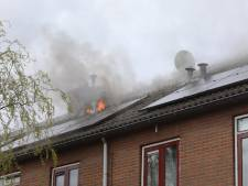 Brand op zolder van woning in Baarn