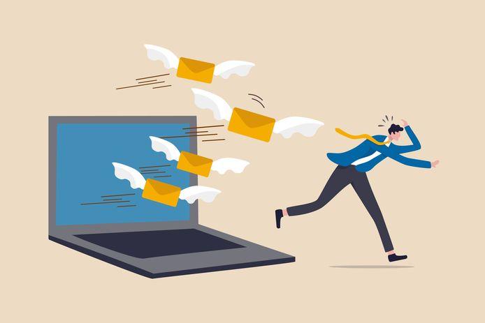 Afbeelding ter illustratie. Experts Richard Wolfe en Arjan Bloemendaal weten hoe je een overvolle inbox weer onder controle krijgt.