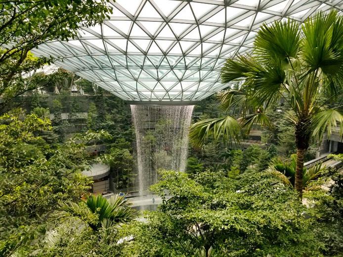 Waterval In Tuin : Een waterval van 40 meter en een tuin van vijf hoog: dit is het