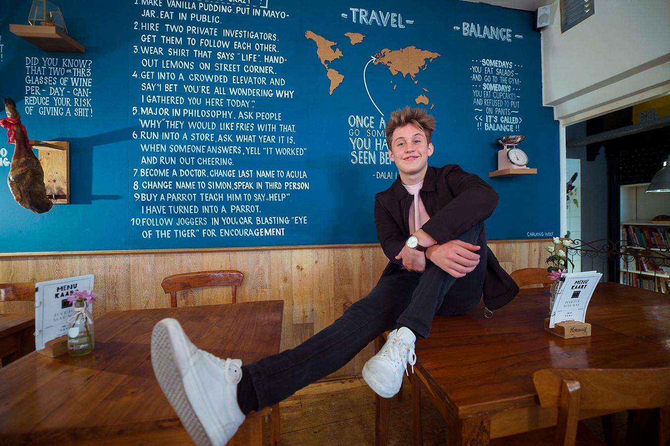 YouTuber Jeroen van Holland.