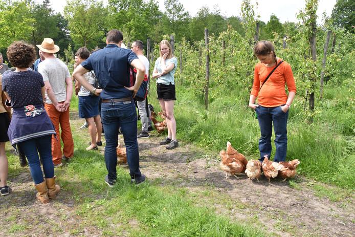 Herenboeren Walcheren bracht een werkbezoek aan de Herenboerderij in Boxtel.