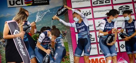 Van Dijk wint met Trek-Segafredo tijdrit in Giro Rosa