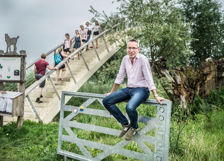 Jan van der Meer, voorzitter Green Challenges: 'Als groene hoofdstad willen we juist de eigen inwoners bereiken.'  Beeld Koen Verheijden