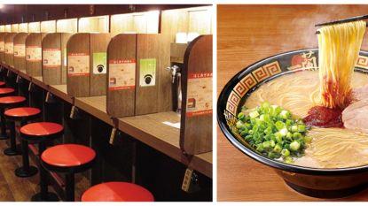 In je eentje dineren en zwijgende kelners: Japanse keten slaat aan in New York