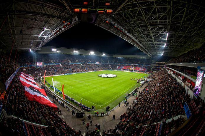 Het PSV-stadion in Eindhoven.