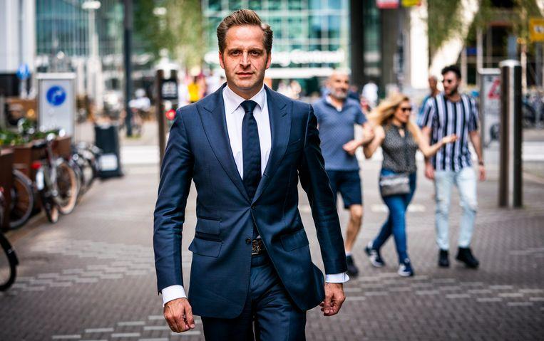 Minister Hugo de Jonge van Volksgezondheid, Welzijn en Sport.  Beeld Freek van den Bergh