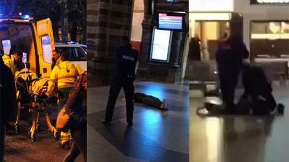 """Politie schiet man neer in Gent-Sint-Pieters: """"Dader bedreigde agent met mes"""""""