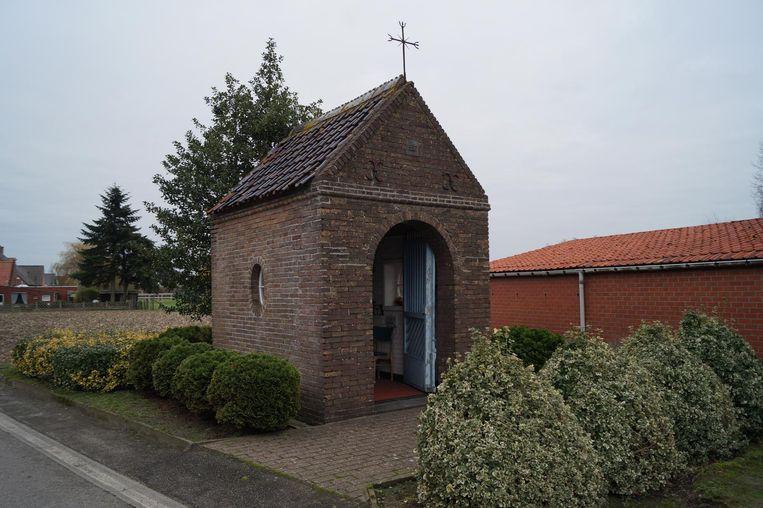 Soppers' kapelletje verdwijnt, maar er komt een nieuwe kapel aan de ingang van Hoeve Ter Kerst.