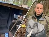 Tweede zoektocht bosjesman van Enschede, dit keer met warm cadeau
