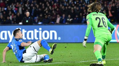 Wat een blunder! Net bij zijn grote Europese debuut gaat Vandevoordt (17) op pijnlijke wijze de mist in