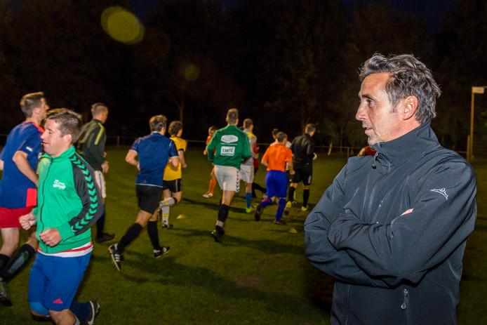 Andy Wierikx als trainer van ODIO.
