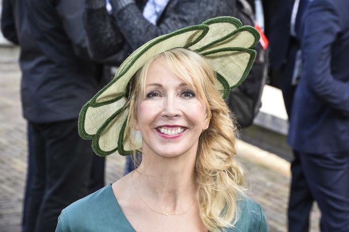 GroenLinks-kandidaat Liesbeth van Tongeren op Prinsjesdag.