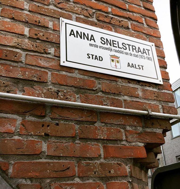De Anna Snelstraat.