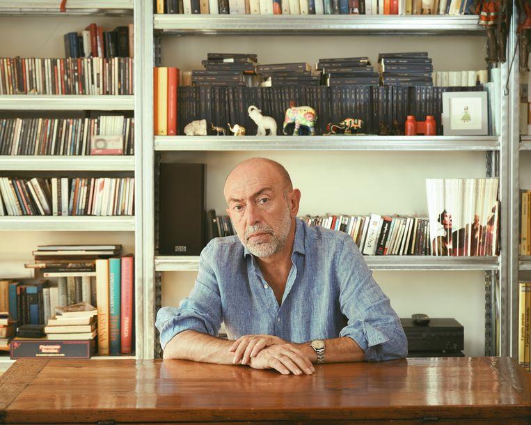 Caioli over de Jong: 'Toen ik vorig jaar Nederland-Frankrijk zag, dacht ik: over hem moet ik een boek schrijven.' Beeld Gianfranco Tripodo