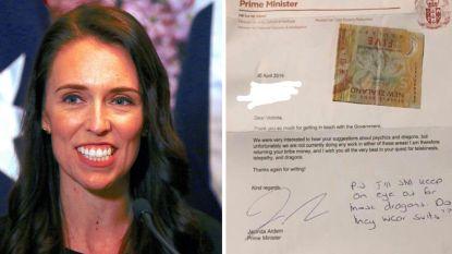 """Meisje (11) stuurt """"omkoopgeld"""" naar Nieuw-Zeelandse premier voor drakenonderzoek"""