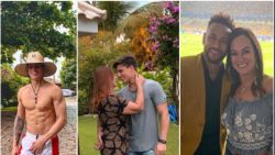 22 lentes jong, maar wel stiefvader van Neymar: moeder van Braziliaan samen met model van 31 jaar jonger