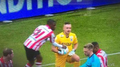 Als Feyenoord straks géén kampioen wordt, zal dit beeld voor extra maagzuur zorgen bij Rotterdamse fans