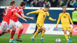 Rode Duivels spelen twee keer in Sint-Petersburg op het EK, poulematch tegen Denemarken in Kopenhagen