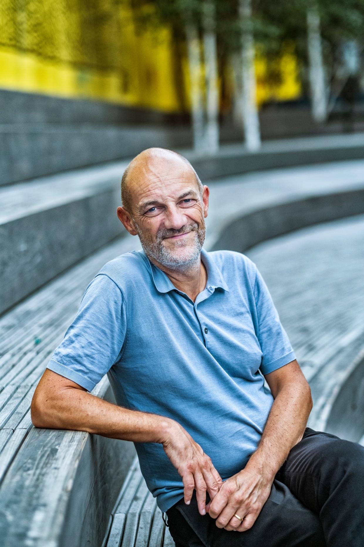 Erik Wieërs: 'In de kern wonen hoeft niet te betekenen dat je inboet aan woonkwaliteit. Je kan nog altijd een grote tuin hebben, en water en groen vlakbij.'