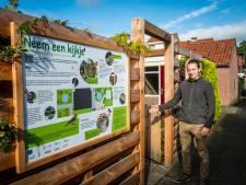 Het eerste idee uit de klimaatvriendelijke tuin in 't Harde is al gekopieerd: buren graven eigen wadi