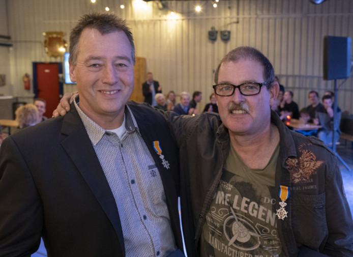 John Willemse (links) en Karel Noldus.