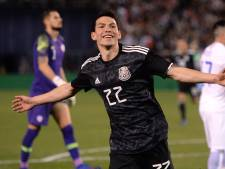 Fraaie treffer Lozano bezorgt nieuwe bondscoach gewenst debuut