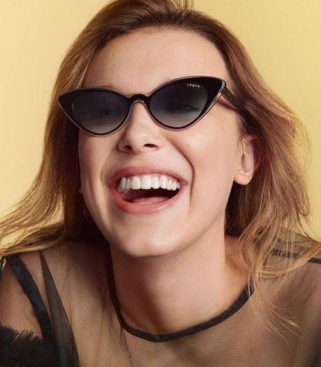 Millie Bobby Brown dévoile sa première collection de lunettes