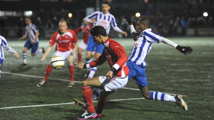 FC Lienden speelt ook komend seizoen in de zondagse topklasse. Foto: Ed van Alem