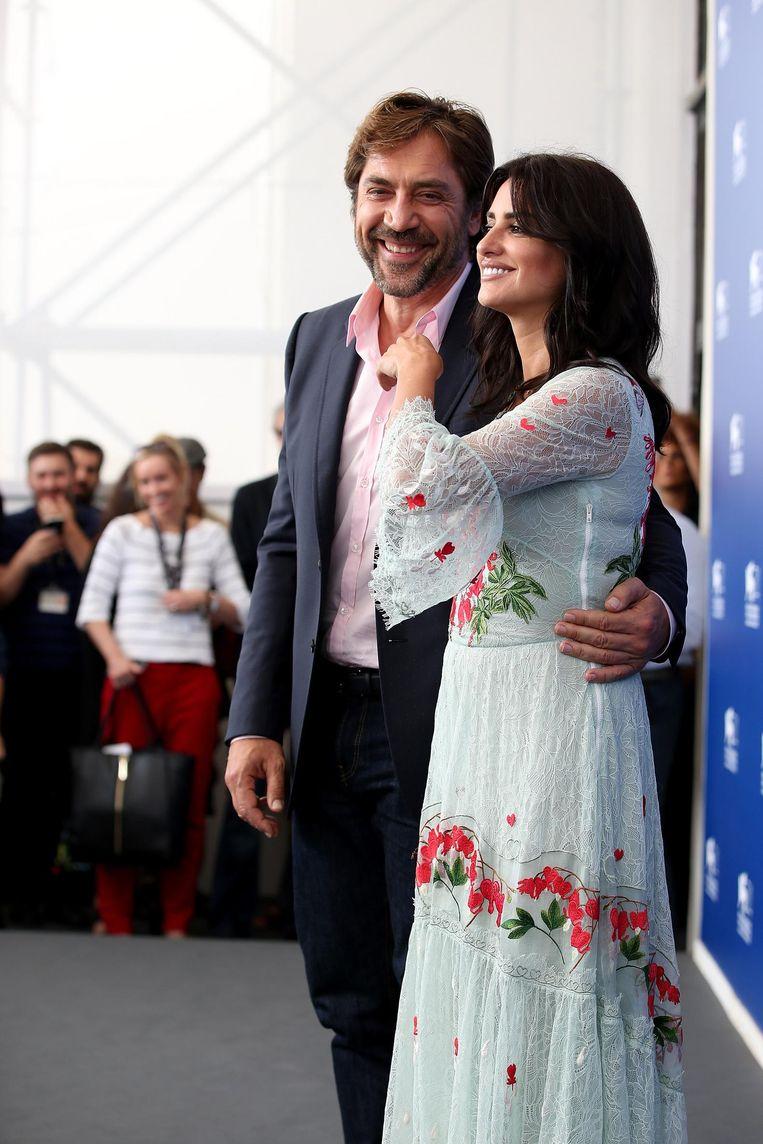 Jarvier Bardem en Penélope Cruz. Beeld Getty Images