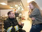 Brandweerman gaat in Gestel op de knieën voor 'slachtoffer'