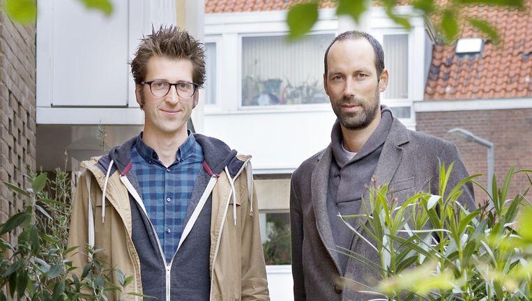 Sander van der Ham en Eric Van Ulden. Beeld Io Cooman